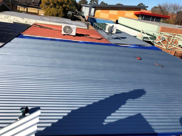 roof repairs fairfield service